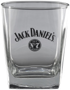 Jack Daniel's Licenced Barware Bug Swing Logo Double Old Fashioned Glass