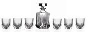 RCR Crystal Adagio Collection 7-Piece Whiskey Set