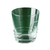Shiraleah Murano Double Old Fashioned Glass, Clear