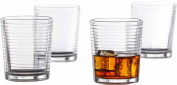 Style Setter Uptown Old Fashioned Glasses, Set of 4