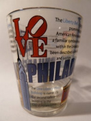 Philadelphia Attractions Collage Shot Glass