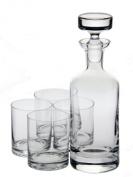 Ravenscroft Crystal Wellington Whisky Set, 5-Piece