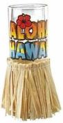 Hawaiian Shot Glass Aloha With Hula Skirt