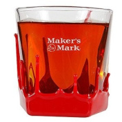 Maker's Mark Bourbon Wax Dipped Snifter Glass | Set of 2 Glasses