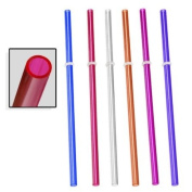 Signature Tumblers 6pc Reusable Thick-Wall Straws - Fits Tervis & Other Tumbler Brands