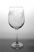 Dragonfly Large Wine Glass - Set of Four (Clear)