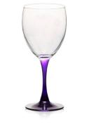 Purple Stem Wine Glass 300ml