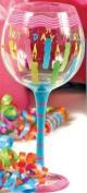 Dennis East Birthday Girl Wine Glass