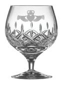 Galway Crystal Irish Claddagh Brandy Glasses Gift Set