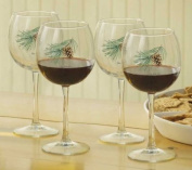 Pinecone 470ml Red Wine Glasses by Persis Clayton Weirs