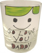 So Love You Daddy Whisky Glass