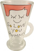 So Love You Mummy Latte Glass