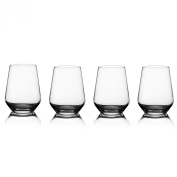 Style Setter Napa Stemless Wine Glasses, Set of 4