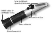 Automatic Temperature Compensating Refractometer - AUTO TEMPERATURE COMPENSATING REFRACTOMETER