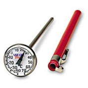 0°F to 220°F THERMOMETER, DIAL 2.5cm , 12.7cm STEM