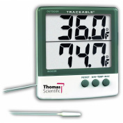 Thomas Traceable Big-Digit Thermometer, -58 to 158 degree F Probe