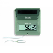 Thomas External Solar Powered Thermometer, 0 to 160 degree F