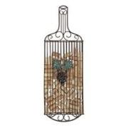 True Fabrications Wall-Mounted Wine Bottle Cork Holder