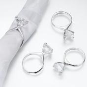 Lillian Rose-Diamond Napkin Rings