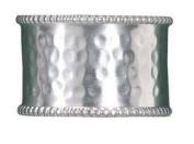 Hammered Cuff Napkin Rings Set