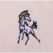 Set of Four Wild Horse Cream Cotton Napkins