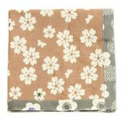 ASD Living for the Home Organic Flower Napkin, Brown