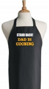 Stand Back! Dad Is Cooking Funny Aprons For Men