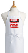 Complaints To The Cook Funny Novelty Apron