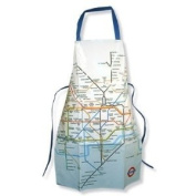 London Underground Tube Map Printed cloth Apron