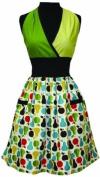 ASD Living Loretta Apron with Pear Tart Design