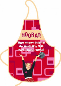 """""""Hooray! One more job to do and it's gin and tonic time"""" Apron"""
