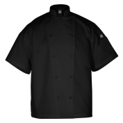 Chef Revival Knife and Steel Short Sleeve Medium Chef Coat