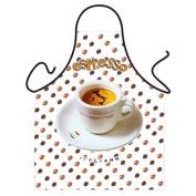 """""""Espresso"""" - Kitchen Apron - 100% Polyester"""