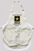 Proud Wife of an American Soldier Apron