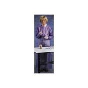 Ansell X-Large Blue Vinyl Coat Apron 8Mil