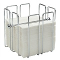 Napkin Holder Chrome plated wire. Holds approximately 150 napkins (supplied empty).