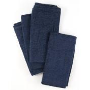 Twilight Blue Ultra Plush Cloth Dinner Napkins Set Of 12