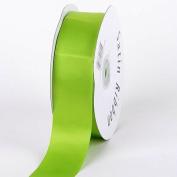 Apple Green Satin Ribbon Single Face 5.1cm 50 Yards