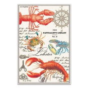 Michel Design Works Lobster Kitchen Towel, Natural Woven Cotton