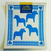 Swedish Dishcloth - Dalahorse