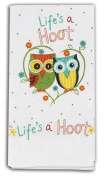 Life's a Hoot Owl Kitchen Flour Sack Towel New Design
