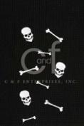 Skull and Bones Happy Halloween Spooky Cotton Kitchen Towel