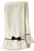 Jessie Steele Terry Towel Set with Black Bow, Natural