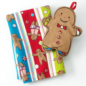 St. Nicholas Square® Gingerbread Kitchen Towel & Potholder Set
