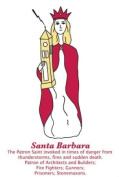 Saint Barbara Dish Towel