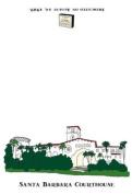 Santa Barbara Courthouse Dish Towel