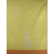 Soaps Vibrant Yellows French Jacquard Tea Towel