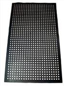 1 pc Black 3x5 Restaurant / Bar Anti-Fatigue Rubber Floor Mat