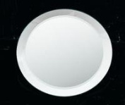20.3cm Round Mirror with Bevelled Edges