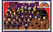 Placemat - Tot Talk - Orchestra Music Meal Dinning Kids Mat tot1032